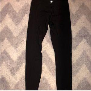 Lululemon black leggings size 2
